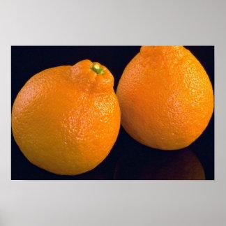 Läckra Tangerines Poster