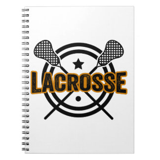 Lacrosse Anteckningsbok Med Spiral
