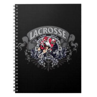 Lacrosse min sport anteckningsbok
