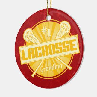 Lacrossejulprydnad, SLAPP mormor #1 Julgransprydnad Keramik