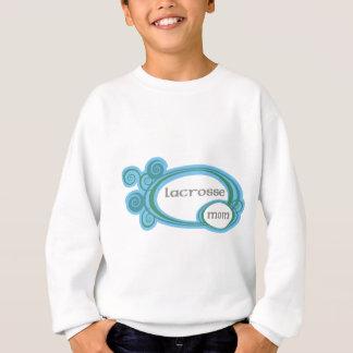 Lacrossemamman virvlar runt t-shirts