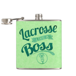 Lacrossenågot liknande en chef fickplunta