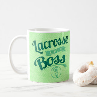 Lacrossenågot liknande en chef kaffemugg