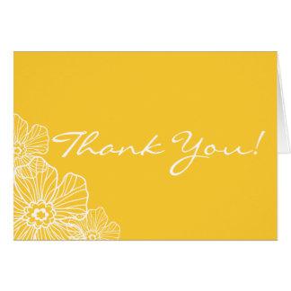 Lacy blom- tackkortkort OBS kort