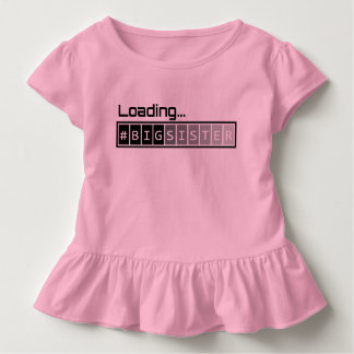 Ladda storasystern - rosa t-shirt