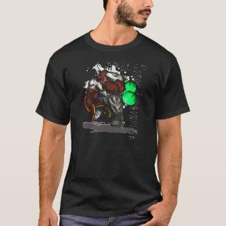 Laddande tjur för HVAC Tee Shirts