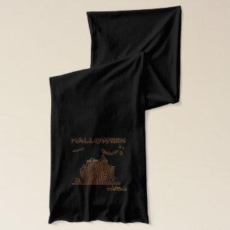 Läder-Look Halloween 1 Halsduk