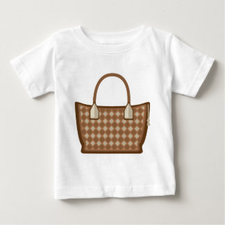 Läderhandväskavektor T-shirt