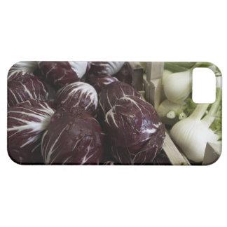 Lådor av röda kålar och fennel iPhone 5 skal