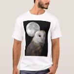 Ladugårduggla och måneskjortan tee shirts