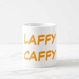 LAFFY CAFFY VIT MUGG