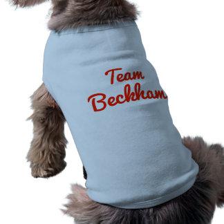 Lag Beckham Hund Tee Shirt
