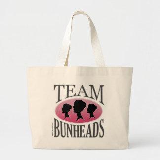 Lag Bunheads (anpassadet) Jumbo Tygkasse