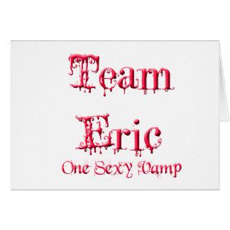 Lag Eric Hälsningskort