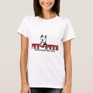 Lag för Grop-n-Gropar konkurrensBBQ Tee Shirt