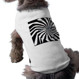 Lag för sebraansiktehund långärmad hundtöja