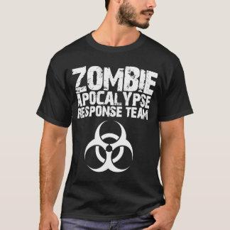 Lag för svar för CDC-Zombieapokalyps T Shirts