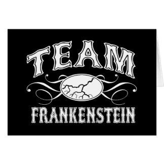 Lag Frankenstein Hälsningskort