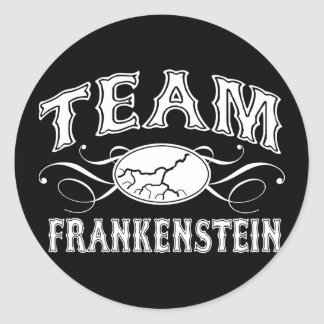 Lag Frankenstein Runt Klistermärke