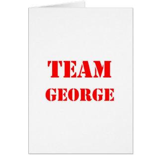 Lag George Hälsningskort