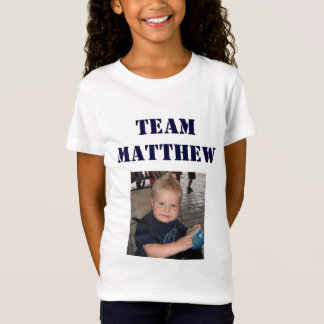 Lag Matthew - liten flicka T-shirts