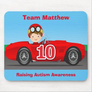 Lag Matthew som lyfter Autismmedvetenhet Mus Matta
