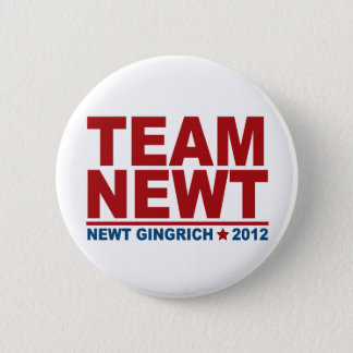 Lag Newt Gingrich 2012 Standard Knapp Rund 5.7 Cm