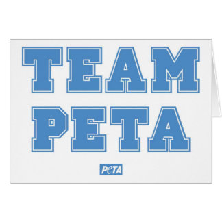 Lag PETA Hälsningskort