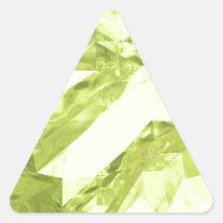 Låg poly abstrakt triangelformat klistermärke