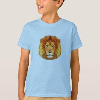 Låg poly design. Lejon illustration Tee Shirt