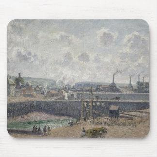 Låg Tide på Duquesne skeppsdockor, Dieppe, 1902 Musmatta