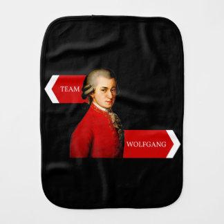 Lag Wolfgang. Wolfgang Amadeus Mozart fläkt Bebistrasa