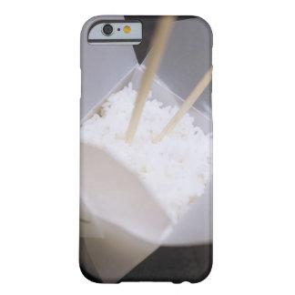 Lagade mat ris i engå behållare barely there iPhone 6 skal