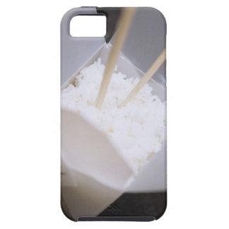 Lagade mat ris i engå behållare tough iPhone 5 fodral