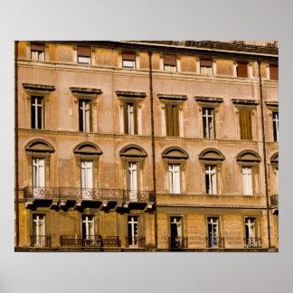 Lägenheter Rome, italien 2 Poster