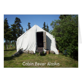 läger alaska 2010 hälsningskort