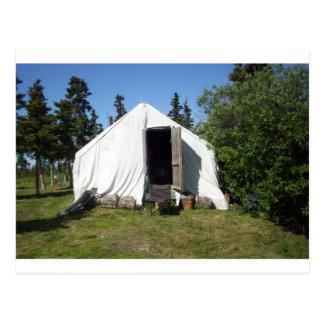 läger alaska 2010 vykort