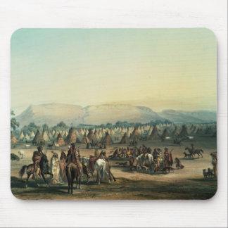 Läger av Piekann indier Musmatta