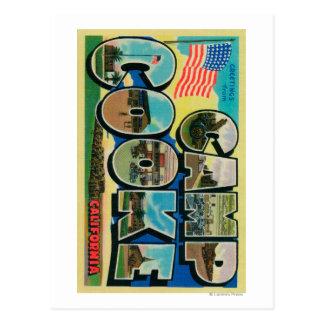 Läger Cooke, Kalifornien - stora brevplatser Vykort