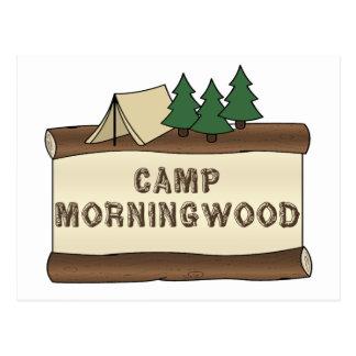 Läger Morningwood Vykort