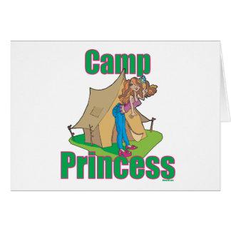 Läger-Princess Hälsningskort