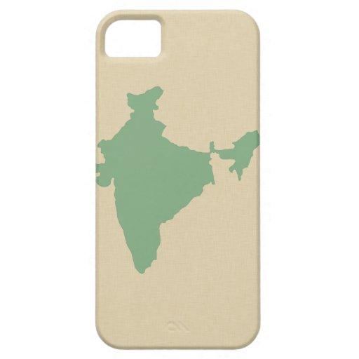 LagerbladkryddaMoods Indien iPhone 5 Cover