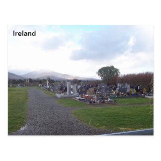 Lägergravplats, läger, Co. Kerry, Irland Vykort
