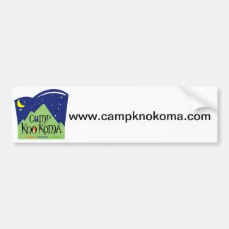 LägerKno-Koma bildekal