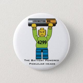 Laget för Picklejar huvud 2011 knäppas Standard Knapp Rund 5.7 Cm