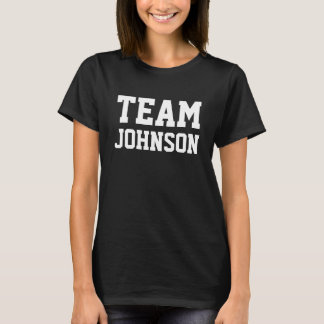 LAGET Johnson personifierar det T-shirt