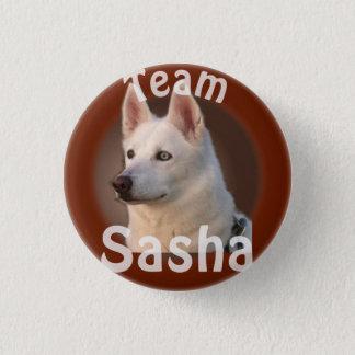 Laget Sasha knäppas Mini Knapp Rund 3.2 Cm