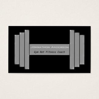 Lagledare för kondition för modern visitkort