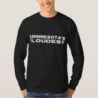 LagMN får hög manar mörka långärmad T Shirts