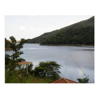 Lago Cerrillos Ponce Vykort